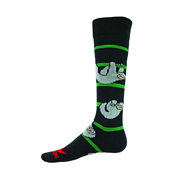 Red Lion Lazy Sloth Knee High Athletic Sock -