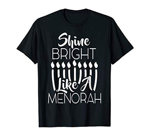 Bright Like A Menorah Holiday Graphic ()