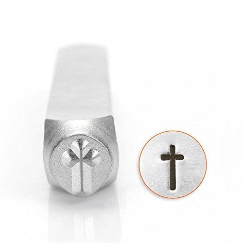 [해외]ImpressArt- 6mm, 교차 금속 도장/ImpressArt- 6mm, Cross Metal Stamp