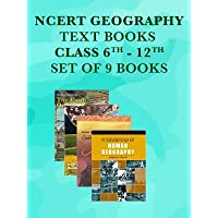 NCERT Geography Class 6 - 12 Text Books Set - English Medium