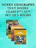 NCERT Geography Class 6 - 12 Text Books Set - English Medium