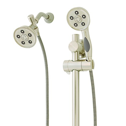 Speakman Handheld Showerheads - Speakman Caspian VS-123014-BN 2.5 gpm Hand Shower with Shower Head