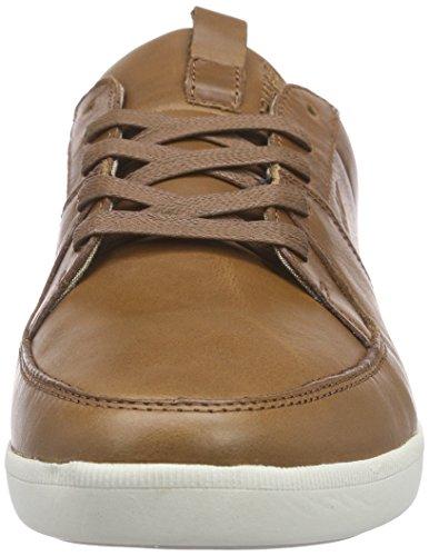 Boxfresh Cladd ICN Lea, Men's Low-Top Sneakers Brown (Peanut)