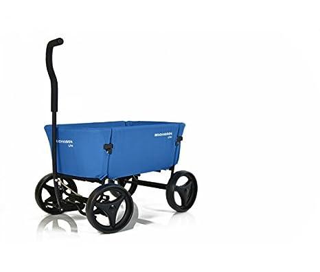Beach Wagon Carretillas de carro plegable azul Beach Wagon ...