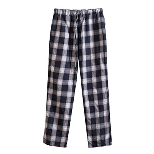 Bsjmlxg 2019 Summer Casual Loose Plaid Harem Pants Couple Models Drawstring Trousers Hip Hop Jogger Pants Black