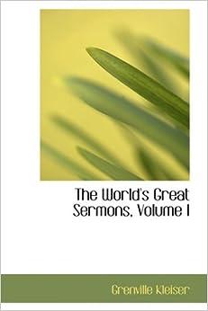 Book The World's Great Sermons, Volume I: 1