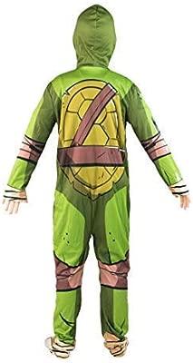 Bodysocks® Disfraz de Tortuga Ninja para niño (7-10 años)