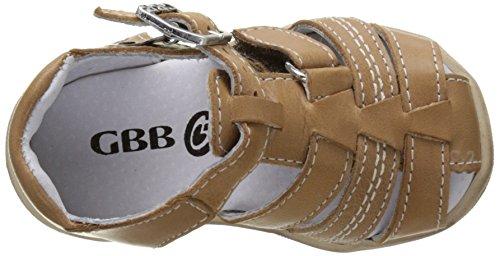 GBB Prigent - Zapatos de primeros pasos Bebé-Niñas Marron (Vte Marron Dpf/Filou)