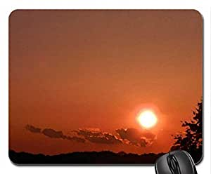 Sun Of Beauty Mouse Pad, Mousepad (Watercolor style) by runtopwell
