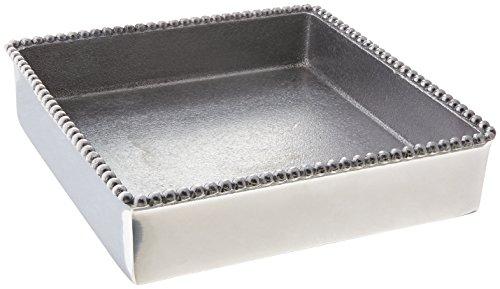 (Mariposa Beaded Luncheon Napkin Box)