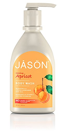 Jason 30 oz Glowing Apricot Pure Natural Body Wash