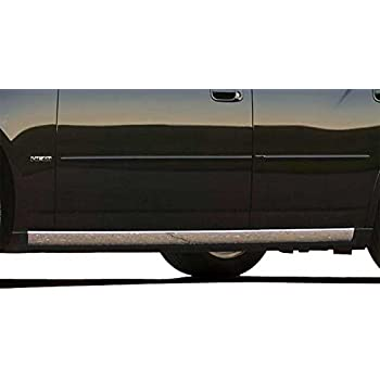 QAA fits 2005-2008 Dodge Magnum 4 Piece Stainless Rocker Panel Trim On The Rocker 2.5 Width TH45920