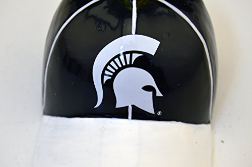 Sterling Licensed Michigan State University Spartans Red and White Christmas Holiday Husker Hand Painted Baseball Cap Ornament -