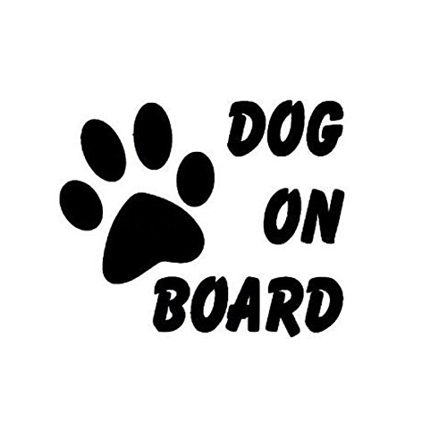 Car Stickers & Decals - Board Decal Dogs Sticker Doodle Stickers - Dog On Board Car Stickers Auto Truck Vehicle Motorcycle Decal - Dog On Board Car Sticker - (Hound Headcover)