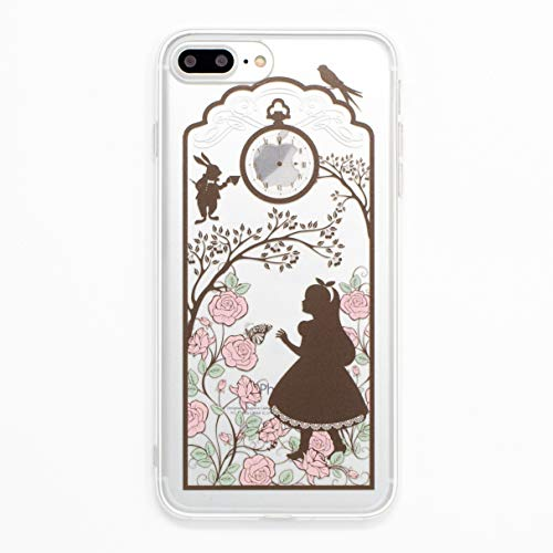 iPhone 7 Plus Case, MADE IN JAPAN Soft Clear TPU Case Alice in Wonderland for iPhone 7 Plus