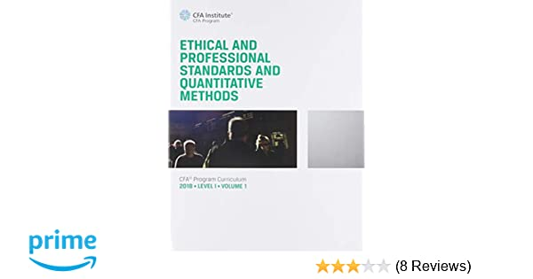 CFA Program Curriculum 2018 Level I Volumes 1-6 Box Set (CFA