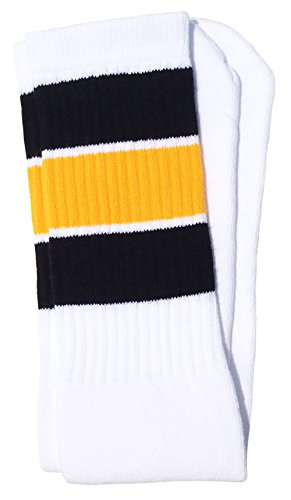High Five White Socks - Skater Socks 22
