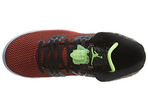 Nike Air Jordan Spike Forty Bg, Zapatillas de Deporte para Niños Rojo / Negro / Blanco (Unvrsty Red / Ghst Grn-Blk-White)