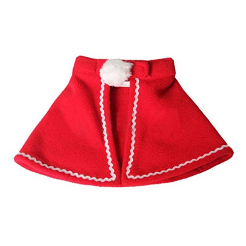 Culturemart Winter Autumn Christmas Small Cats Clothes Cloaks Antlers Costume for Pets Dog Clothes Coat Clothing Halloween Cuccia -
