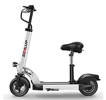 LWTOP 500W Voltaje 48V, Plegable Scooter eléctrico Adulto ...