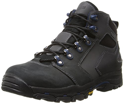 - Danner Men's Vicous 4.5 Inch Work Boot,Black/Blue,9.5 D US