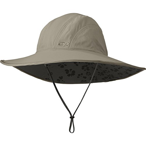 Outdoor Research Women's Oasis Sun Sombrero Hat, Khaki, Small