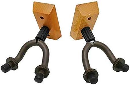 Liroyal High-Strength Wall-Mounted Guitar Hanger Hook Set of 1 with mounting Screws