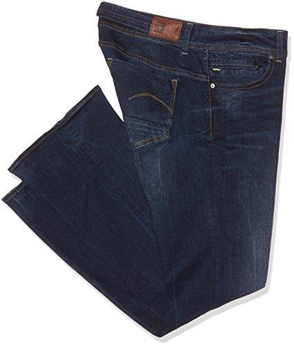 RAW Dk Mid para Mujer Bootleg Midge Aged Saddle Azul 89 STAR G Wmn Jeans gUqRw5xn