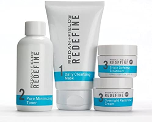 7558db28018 Amazon.com: Rodan + Fields Redefine Regimen for the Appearance of Lines,  Pores and Loss of Firmness: Beauty