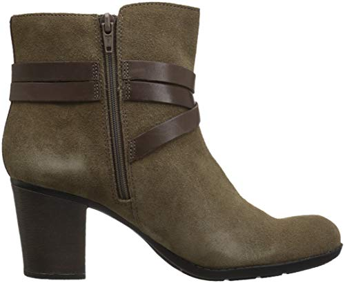 Women's CLARKS Boot Leather Enfield Olive Suede Fashion Combi Coco Pxwvdxp