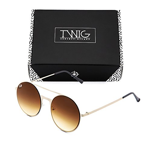 Gafas Degradado espejo FRIDA sol TWIG de Bronce degradadas mujer Marròn 7qwO7Hr
