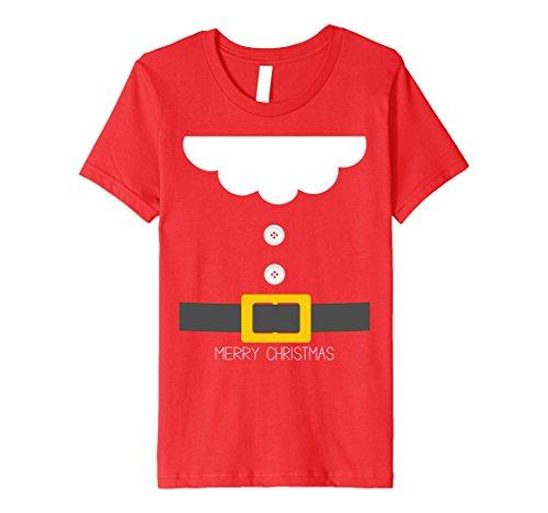 4 Group Halloween Costume Ideas (Kids Santa Dwarf Halloween Christmas Group Costume Idea T-Shirt 4 Red)