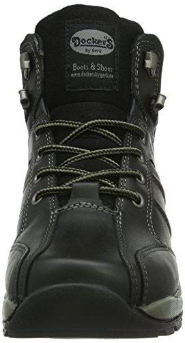 Dockers 331513-045001 - Zapatillas de cuero para hombre negro - Schwarz (schwarz  001)