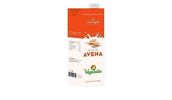 Vegetalia, Bebida de arroz (Avena) - 10 de 1000 ml. (Total 10000 ...