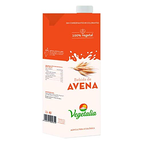 Vegetalia, Bebida de arroz (Avena) - 10 de 1000 ml. (Total ...