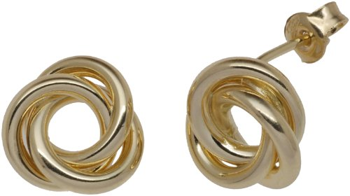Boucles d'oreille Femme - E-10303 - Or jaune (9 cts) 1.3 Gr