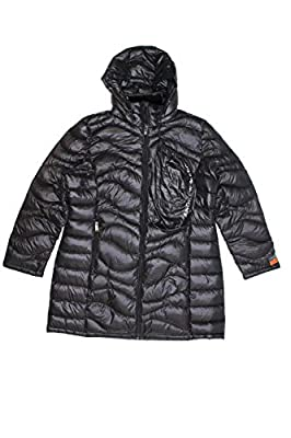 Andrew Marc Women's Long Length Down Puffer Jacket with Hood