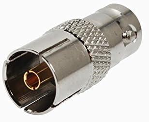 2pcs RF Cable Terminal Conector de aleación de cobre bnc-dvb ...