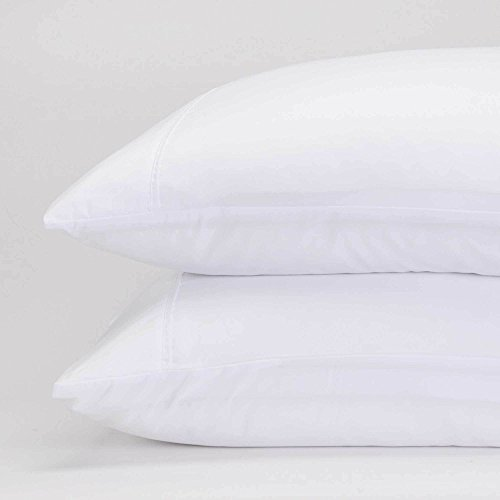 Jennifer Adams Home Classic Eternal Pillowcase Set (Standard, White) by Jennifer Adams