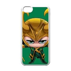 iPhone 5c Cell Phone Case White Baby Loki SP4125127