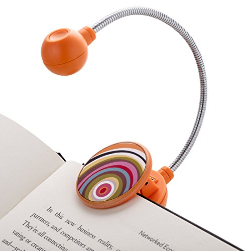 LED Book Light by French Bull - LED Book Light - Book Reading Light - LED Reading Light … (Ring)