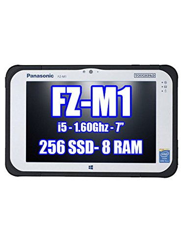 PANASONIC TOUGHPAD FZ-M1 FZ-M1CFAAXBM 256GB SSD, 8GB Ram, Windows 8.1 Pro