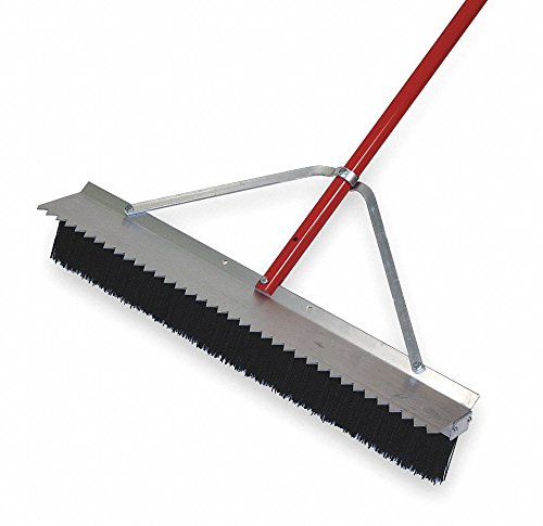 Synthetic Push Broom, 28'' Sweep Face by TOUGH GUY