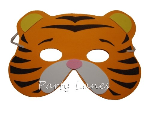 8 Assorted Foam Animal Masks (máscara/careta): Amazon.es: Juguetes y juegos