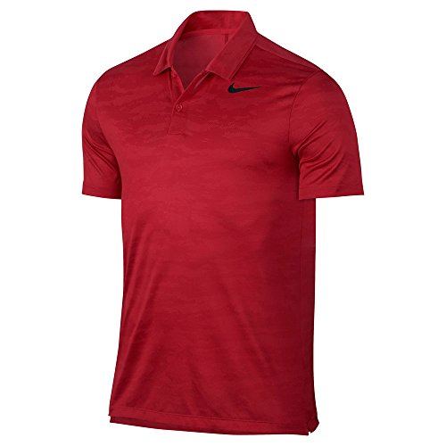 Mens 2017 Nike Icon Jacquard Golf Polo-885708-852-M