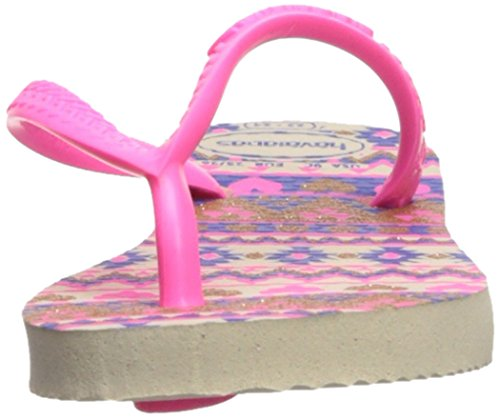 Pictures of Havaianas Kids Slim Fashion Sandal Beige/Pink 8 M US 6