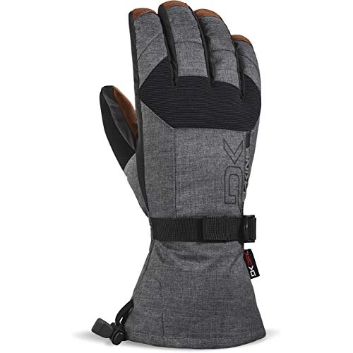 Dakine Men's Leather Scout Gloves, Carbon, XL