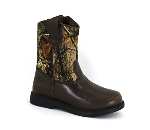 Realtree Boys Dustin Camo Synthetic Boots 3 M US Little Kid