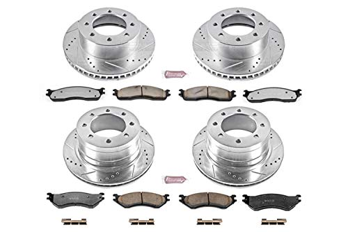 Power Stop K5468-36 Z36 Truck & Tow Front and Rear Brake Kit ()