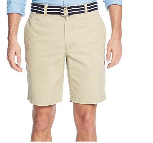 Club Room Estate Collection Belted Flat-Front Shorts, Creek